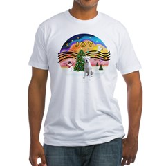 Xmusic2-White Boxer (n) Shirt