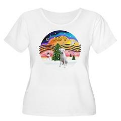Xmusic2-White Boxer (n) T-Shirt