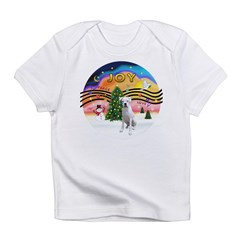 Xmusic2-White Boxer (n) Infant T-Shirt