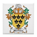 Mortimer Coat of Arms Tile Coaster