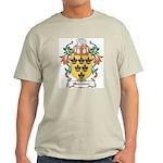 Mortimer Coat of Arms Ash Grey T-Shirt