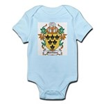 Mortimer Coat of Arms Infant Creeper