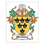 Mortimer Coat of Arms Small Poster