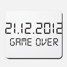 game over - 21.12.2012 Mousepad