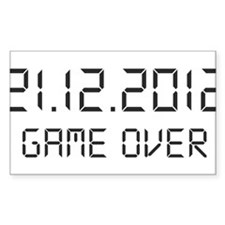 game over - 21.12.2012 Decal