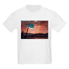 Frederic Edwin Church Banner In The Sky T-Shirt