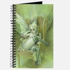 Vintage Chick Sexy Green Fairy Journal
