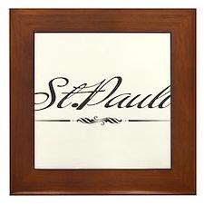 St.Pauli Framed Tile