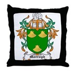 Morrogh Coat of Arms Throw Pillow