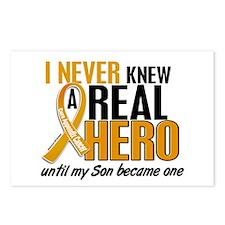 Never Knew a Hero 2 Appendix Cancer Postcards (Pac
