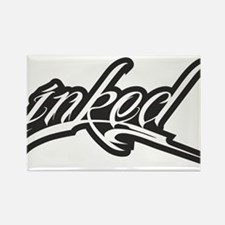 inked Rectangle Magnet