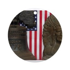 LET FREEDOM RING VII™ Ornament (Round)