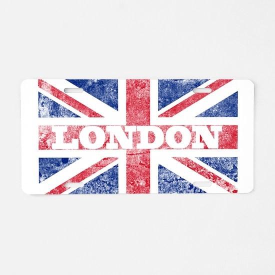 London2 Aluminum License Plate