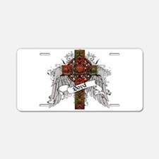 Boyd Tartan Cross Aluminum License Plate