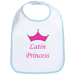 Latin Princess Bib