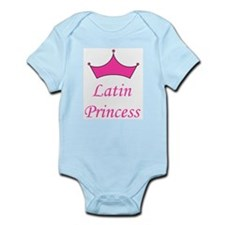 Latin Princess Infant Creeper