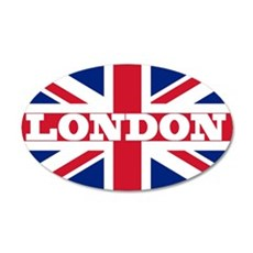 London1 20x12 Oval Wall Decal