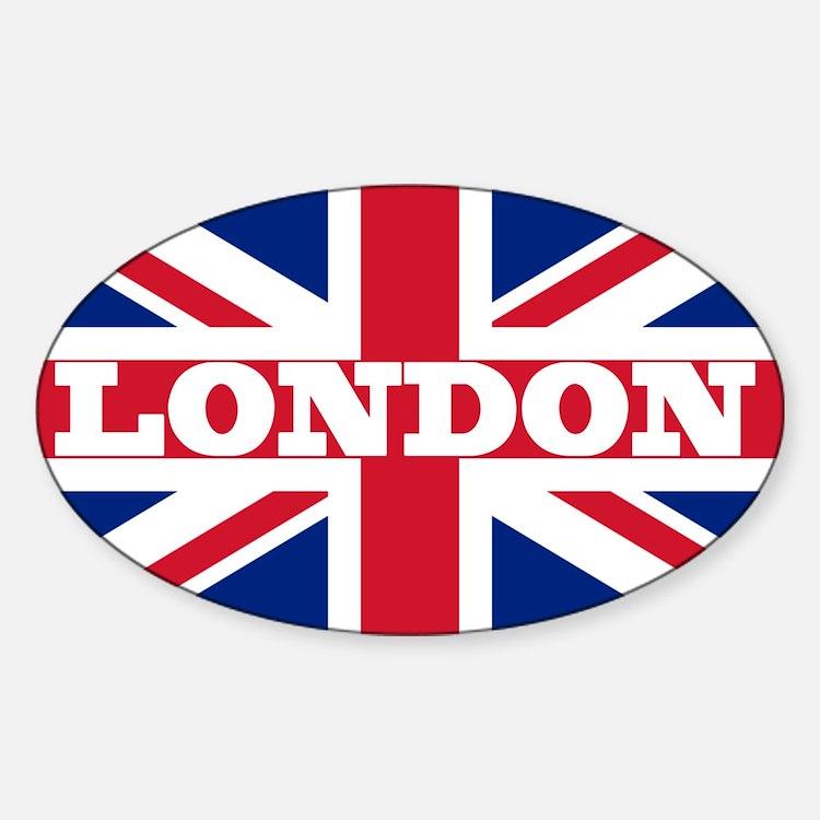 London1 Sticker (Oval)