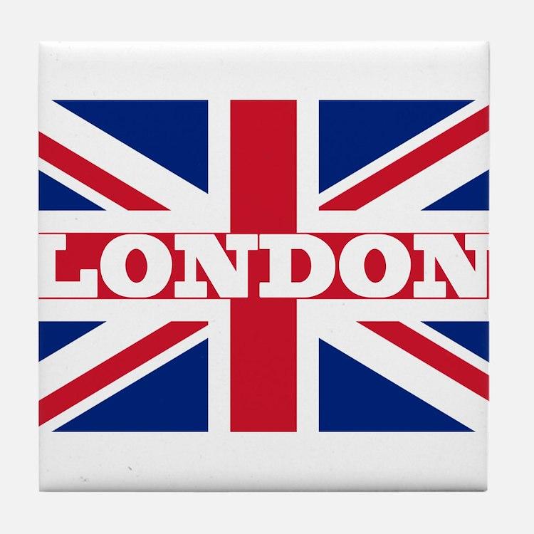 London1 Tile Coaster