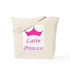 Latin Princess Tote Bag