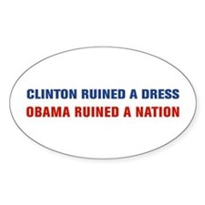 Obama Ruined A Nation Decal