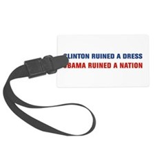 Obama Ruined A Nation Luggage Tag
