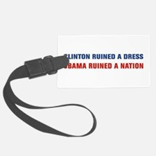 Obama Ruined A Nation Luggage Tag