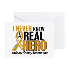 Never Knew a Hero 2 Appendix Cancer Greeting Card