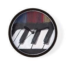 Musical Piano Wall Clock