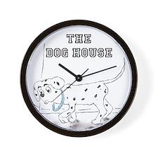 The Dog House Wall Clock