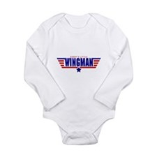 Daddys Little Wingman Body Suit