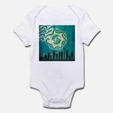 Vintage Seattle Skyline Infant Bodysuit