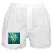 Vintage Seattle Skyline Boxer Shorts
