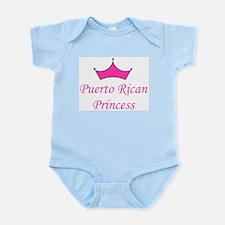 Puerto Rican Princess Infant Creeper