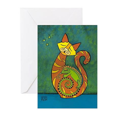 Iguana Thank You Greeting Cards (Pk of 20)