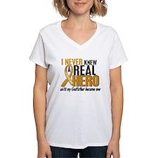 Never Knew a Hero 2 Appendix Cancer Shirt