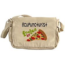 Acupuncturist Funny Pizza Messenger Bag
