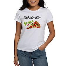 Acupuncturist Funny Pizza Tee