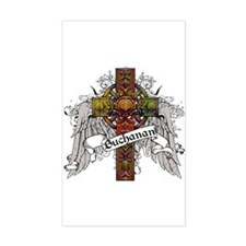 Buchanan Tartan Cross Decal