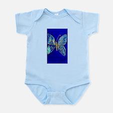 Glitter Butterfly Infant Bodysuit