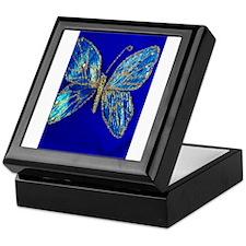 Glitter Butterfly Keepsake Box