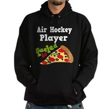Air Hockey Player Pizza Hoodie