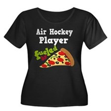 Air Hockey Player Pizza T