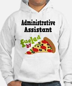 Administrative Assistant Funny Pizza Hoodie