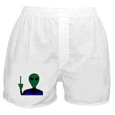 alien encounter Boxer Shorts
