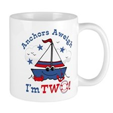 Little Sailboat 2nd Birthday Mug