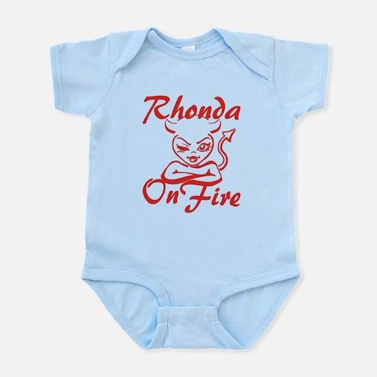 Rhonda On Fire Infant Bodysuit