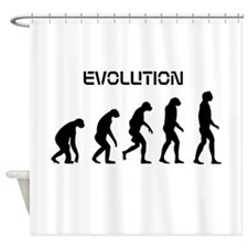 evolution Shower Curtain