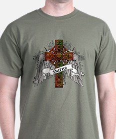 Burns Tartan Cross T-Shirt