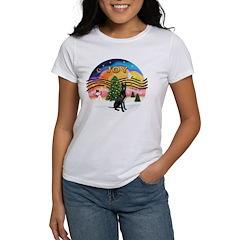 XMusic2-GreatDane (blk-cr) Women's T-Shirt